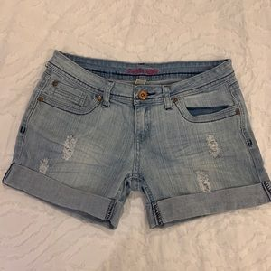 Refuge Midrise Denim Shorts